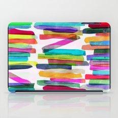 Colorful Stripes 5 iPad Case
