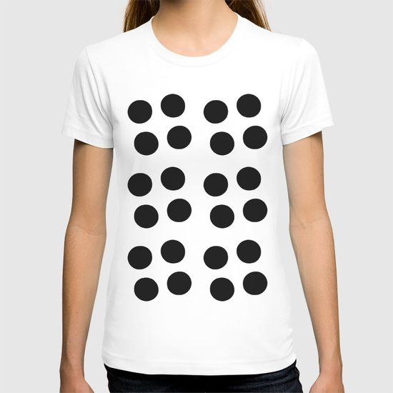 Copijn Black & White Dots T-shirt