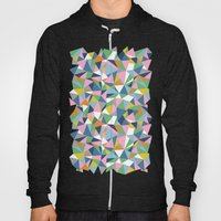 Abstraction Repeat Pink Hoody