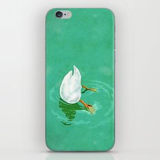 Duck diving iPhone & iPod Skin