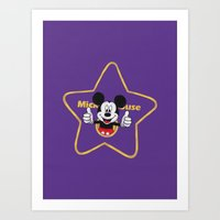 Walk Of Fame Art Print