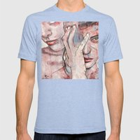 5154 Mens Fitted Tee Tri-Blue SMALL