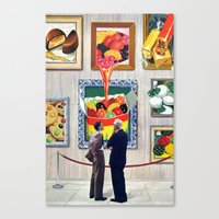 A Question of Candy Canvas Print