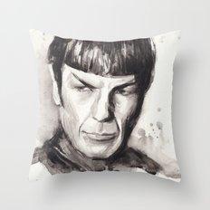 Spock Star Trek Throw Pillow