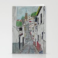 Calle En Ardales Stationery Cards