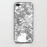 Berlin Map Schwarzplan O… iPhone & iPod Skin