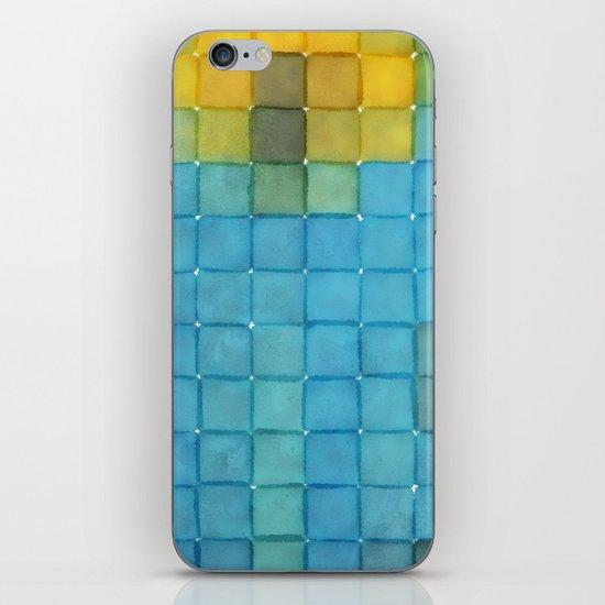 Polaroid Pixels I (Flower) iPhone & iPod Skin