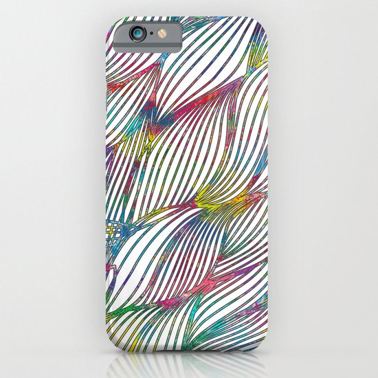 Trace Paint Abstract iPhone & iPod Case