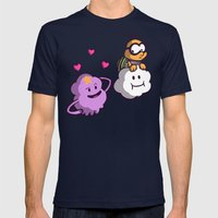 Lumpy Space Princess: You know you want these lumps! Mens Fitted Tee Navy SMALL