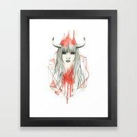 Zodiac - Taurus Framed Art Print