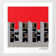 Salk Institute, Louis Ka… Art Print