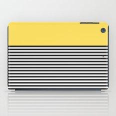 STRIPE COLORBLOCK {LEMON} iPad Case