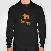 Dogs-Red Hoody