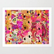Eye on you... Art Print