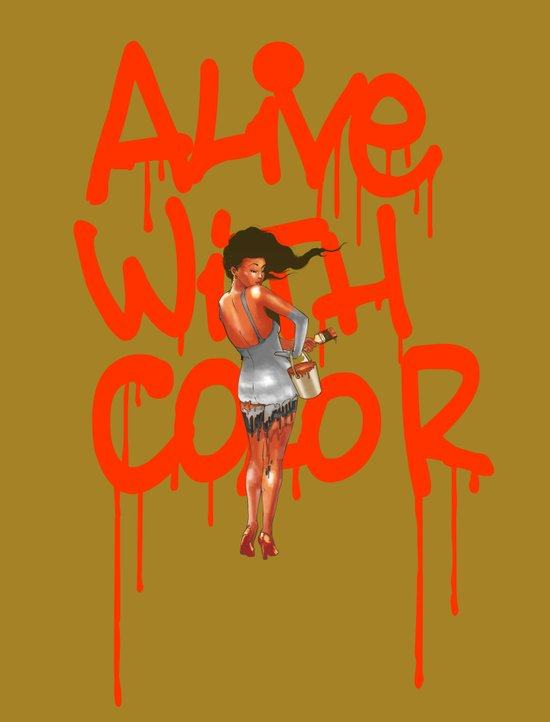 Alive with Color Art Print