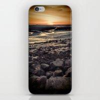 Rocky Sunset. iPhone & iPod Skin