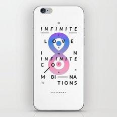 Polyamory iPhone & iPod Skin