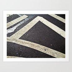 Crosswalk Art Print