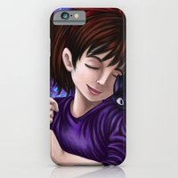 iPhone & iPod Case featuring Kiki and Jiji by Kimberly Castello