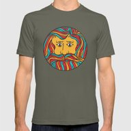 Circle Mens Fitted Tee Lieutenant SMALL