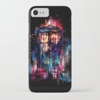 heart iPhone & iPod Cases featuring All of Time and Space by Alice X. Zhang