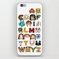 ABC3PO iPhone & iPod Skin