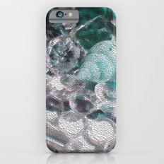 Blue romance of the shiny ones iPhone 6 Slim Case