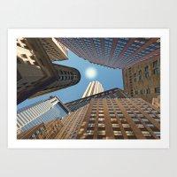 At its Zenith - New York Art Print