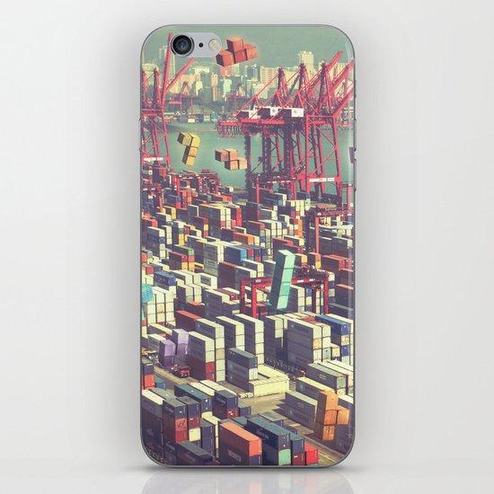 Pier Tetris iPhone & iPod Skin