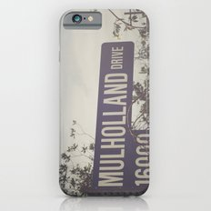 Mulholland Drive iPhone 6 Slim Case