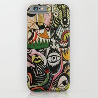 iPhone & iPod Case featuring jungle boogie by Dan Feit