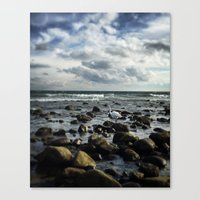 Get Your Feet Wet Canvas Print