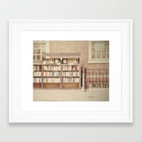 Dollar Books Framed Art Print