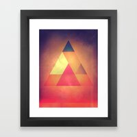 3try Framed Art Print