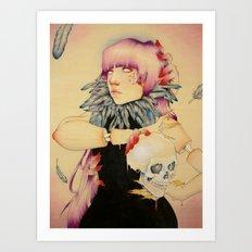 Morrighan Art Print