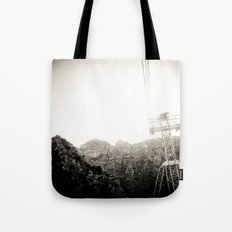 Deep Breathing Tote Bag