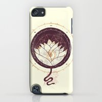 iPod Touch Cases featuring Lotus by Hector Mansilla