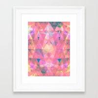 Caleidoscope Tre Framed Art Print