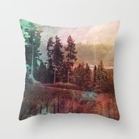 forest3 Throw Pillow