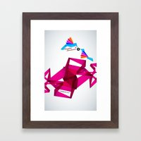 Paper Birds Framed Art Print