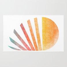 Raising sun (rainbow-ed) Rug