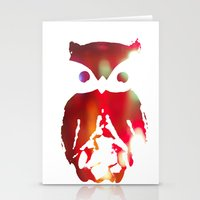 The Watcher - With Color Stationery Cards