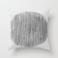 pencil Throw Pillow