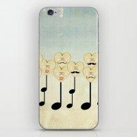 La familia musica with background iPhone & iPod Skin