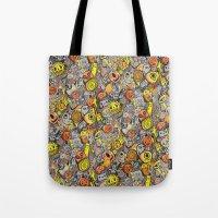 Pencil People Tote Bag