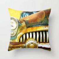 Vintage Dreams Throw Pillow