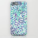 Turquoise Ivy iPhone & iPod Case