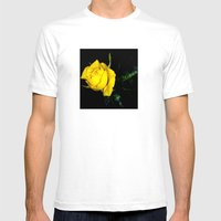 Embrace Our Friendship Mens Fitted Tee White SMALL