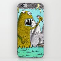 Sea Beast iPhone & iPod Skin
