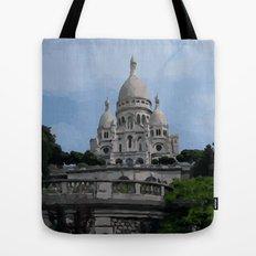 Sacre Coeur Paris France Tote Bag